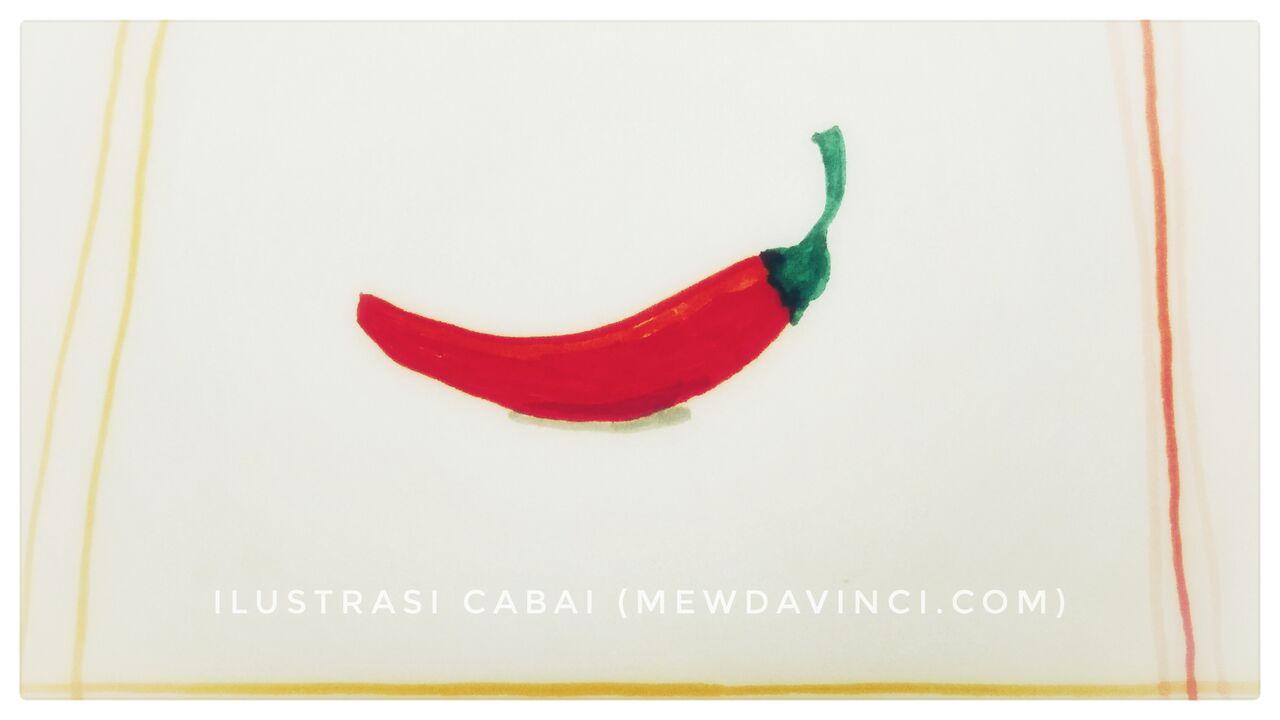 Ilustrasi Cabai oleh Mew da Vinci
