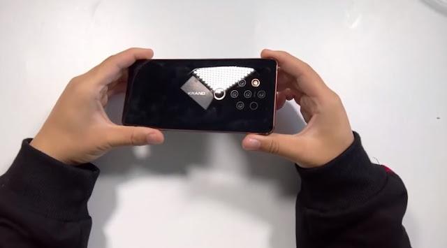 Prototype du Nokia 9 PureView avec lecteur d'empreintes digitales