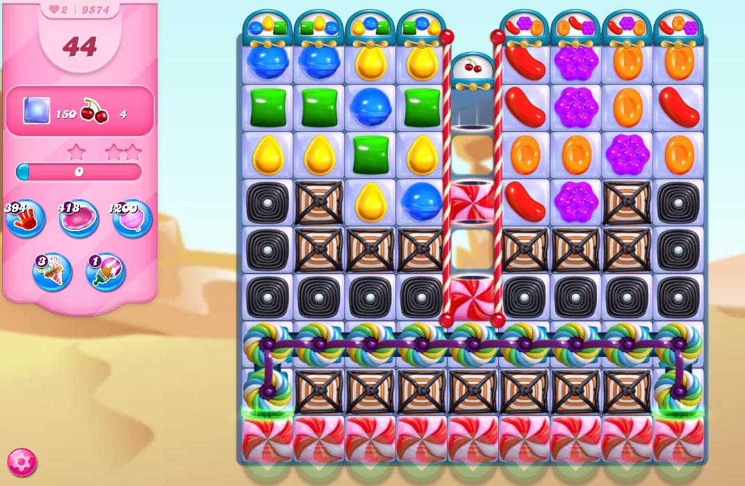 Candy Crush Saga level 9574