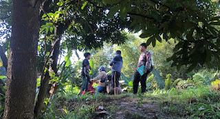 Personel Sat Lantas Polres Enrekang Datangi TKP Laka Di Kecamatan Cendana