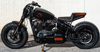 harley davidson fat bob by hd jesi route 76