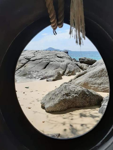 île privée, Rawai, Phuket, Thaïlande, les petites bulles de ma vie