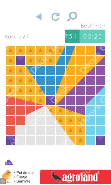 Cheats, Walkthrough for Blocks and Shapes Level 227