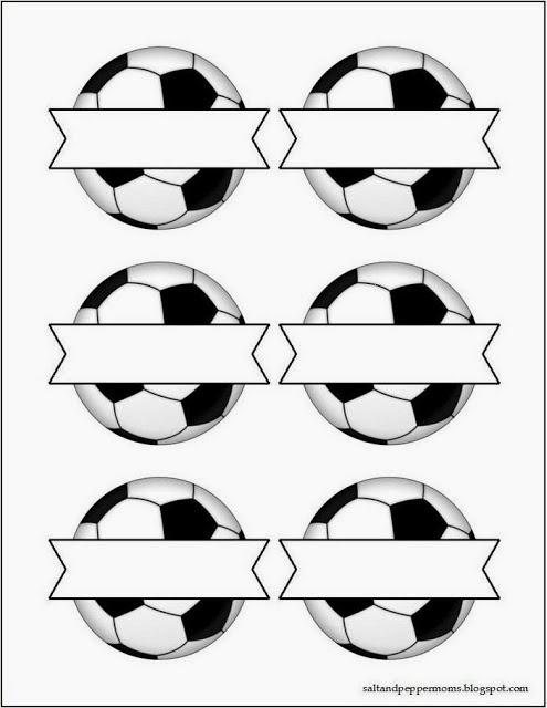 Kit para fiestas de futbol para imprimir gratis ideas - Baby spa barcelona ...
