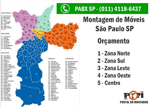 Orçamento Montagem de Móveis São Paulo SP 011 4118-6437
