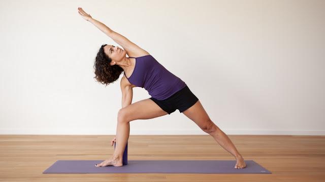 Tứ thế nghiêng về một bên ( Bài tập Yoga EXTENDED SIDE ANGLE )