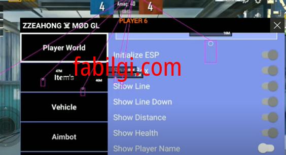 Pubg 1.5 Zzeahong GL Aimbot, Hızlı Koşma Hilesi Ağustos 2021