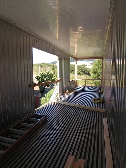 Refrigerated Shipping Container Home, San Francisco, California 14