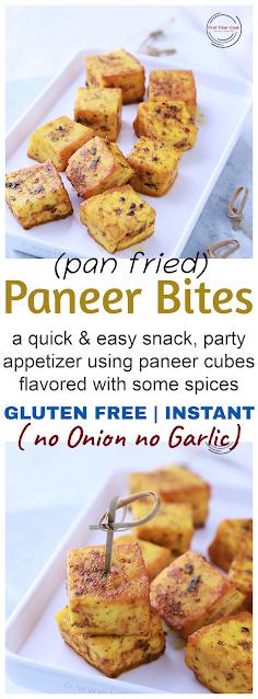 Quick Instant Paneer snack