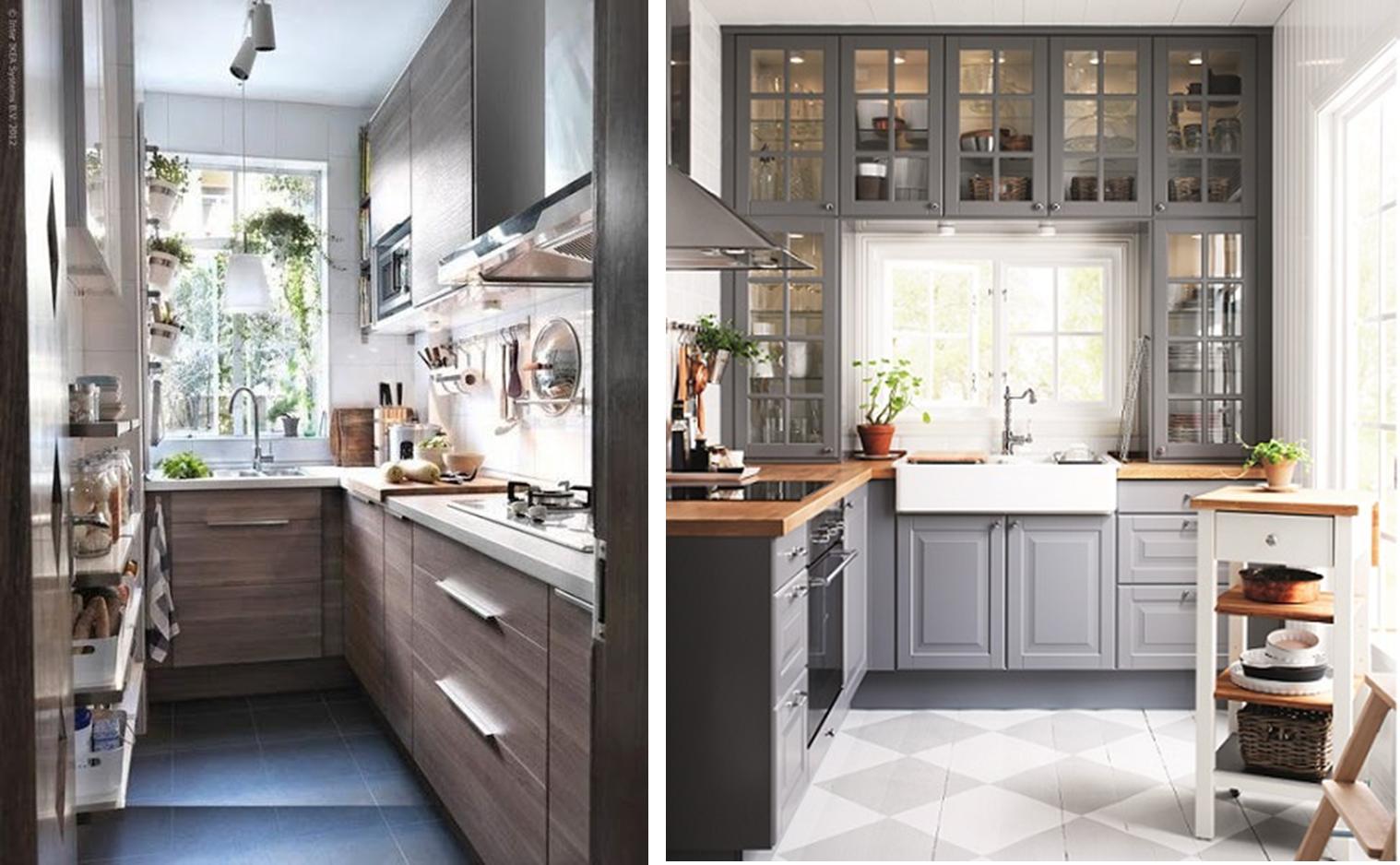 Decoraci n f cil 10 ideas para cocinas peque as small for Imagenes de decoracion de cocinas