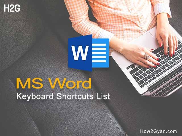 ms-word-keyboard-shortcuts-list-pdf-download