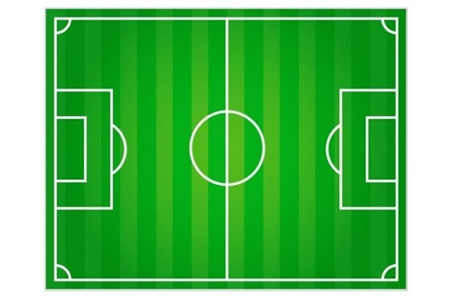 gambar lapangan bola kaki