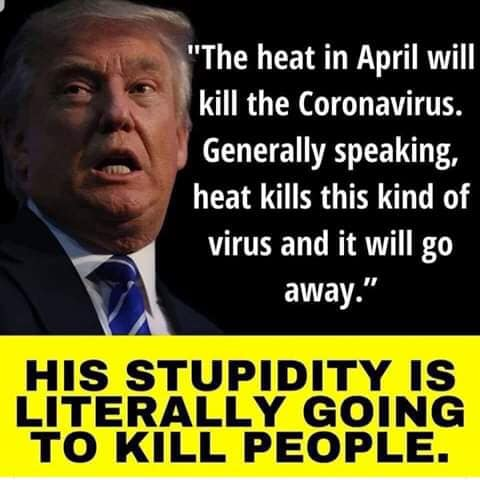 A List of Trump's Attempts to Deny Coronavirus Away - Trump As Prophetic Cult Leader Who Foresees The Future When COVID-19 Magically Disappears, Goes Away, Like A Miracle That Trump Makes Happen - When Prophecy Fails - Leon Festinger Predicts Loyal Cult Followers Will Double Down