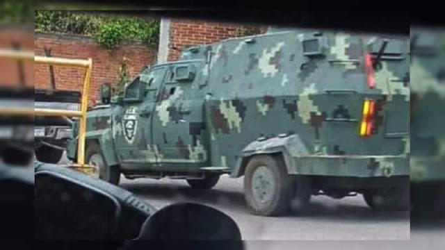 El CJNG irrumpe en Aguililla, Michoacán a escondite de líder  de Cárteles Unidos habría robado sus camiones blindados