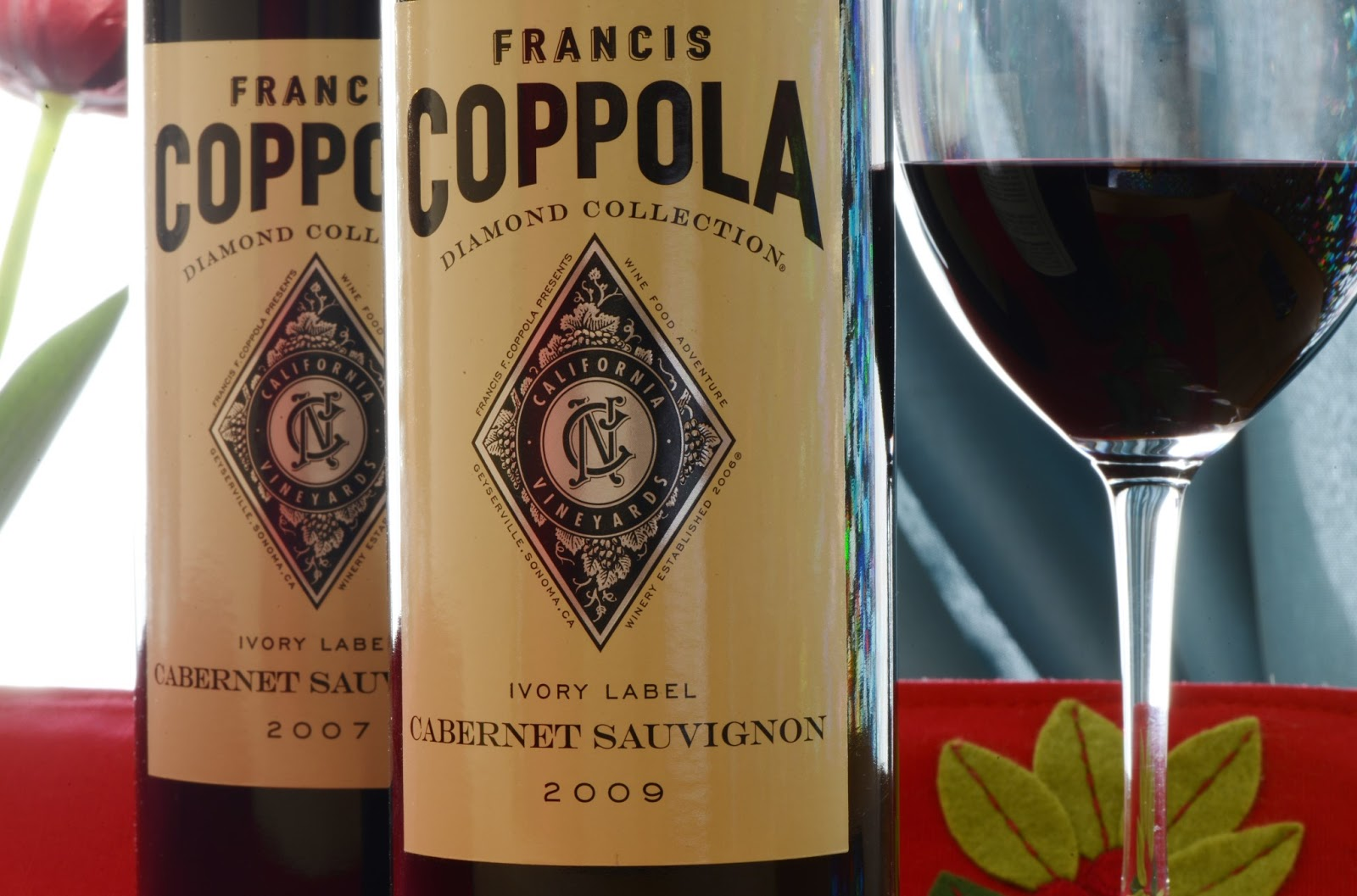 This is an image of Agile Coppola Claret 2009 Black Label