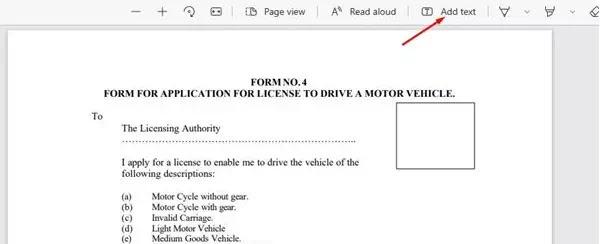 Cara Menambahkan Teks ke File PDF Menggunakan Microsoft Edge-2