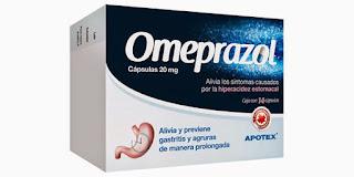 omeprazol para el reflujo ácido