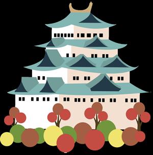 Illustration château de Nagoya
