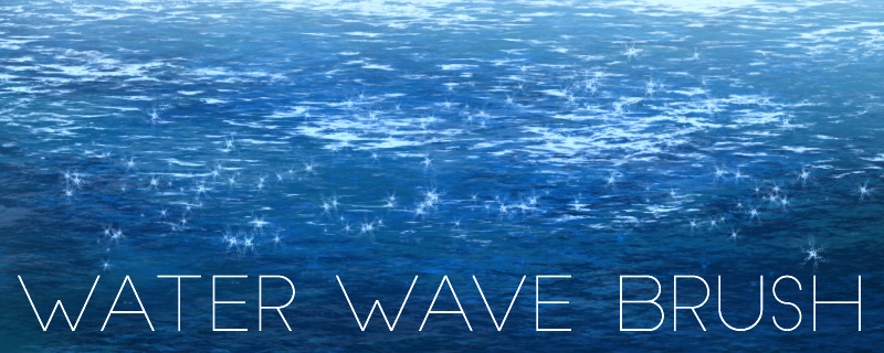 Photoshop Custom Water Wave Brush Tutorial