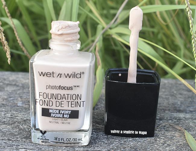 Base de Maquillaje Photofocus de Wet n Wild
