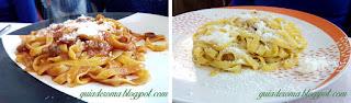 Comida do campo nos arredores de Roma: Cittaducale