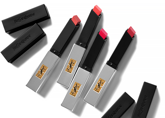 Yves Saint Laurent Rouge Pur Couture The Slim Sheer Matte Lipsticks Review Swatches