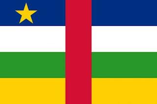 Gambar Bendera negara Republik Afrika Tengah