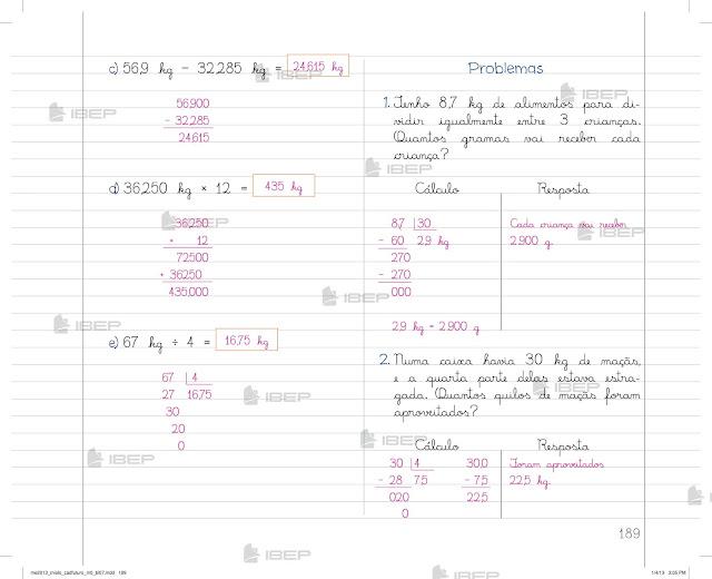 Livro de Matemática 5 Ano