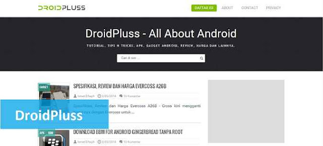 template blogger droidpluss