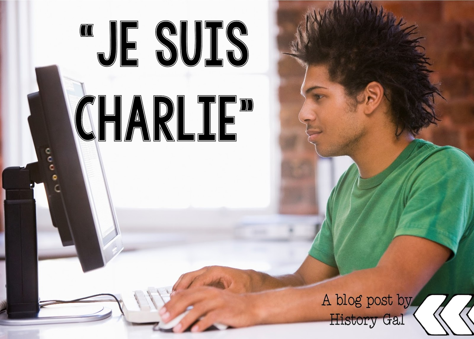 Resources for Teaching Je Suis Charlie By History Gal