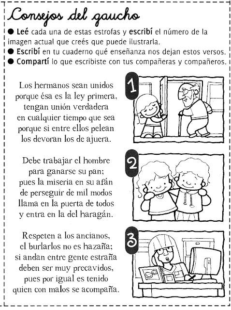 Consejos de gaucho  para niños día de la tradiciñon argentina