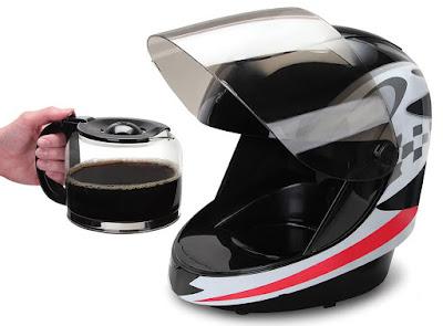 Coffeemaker Helmet