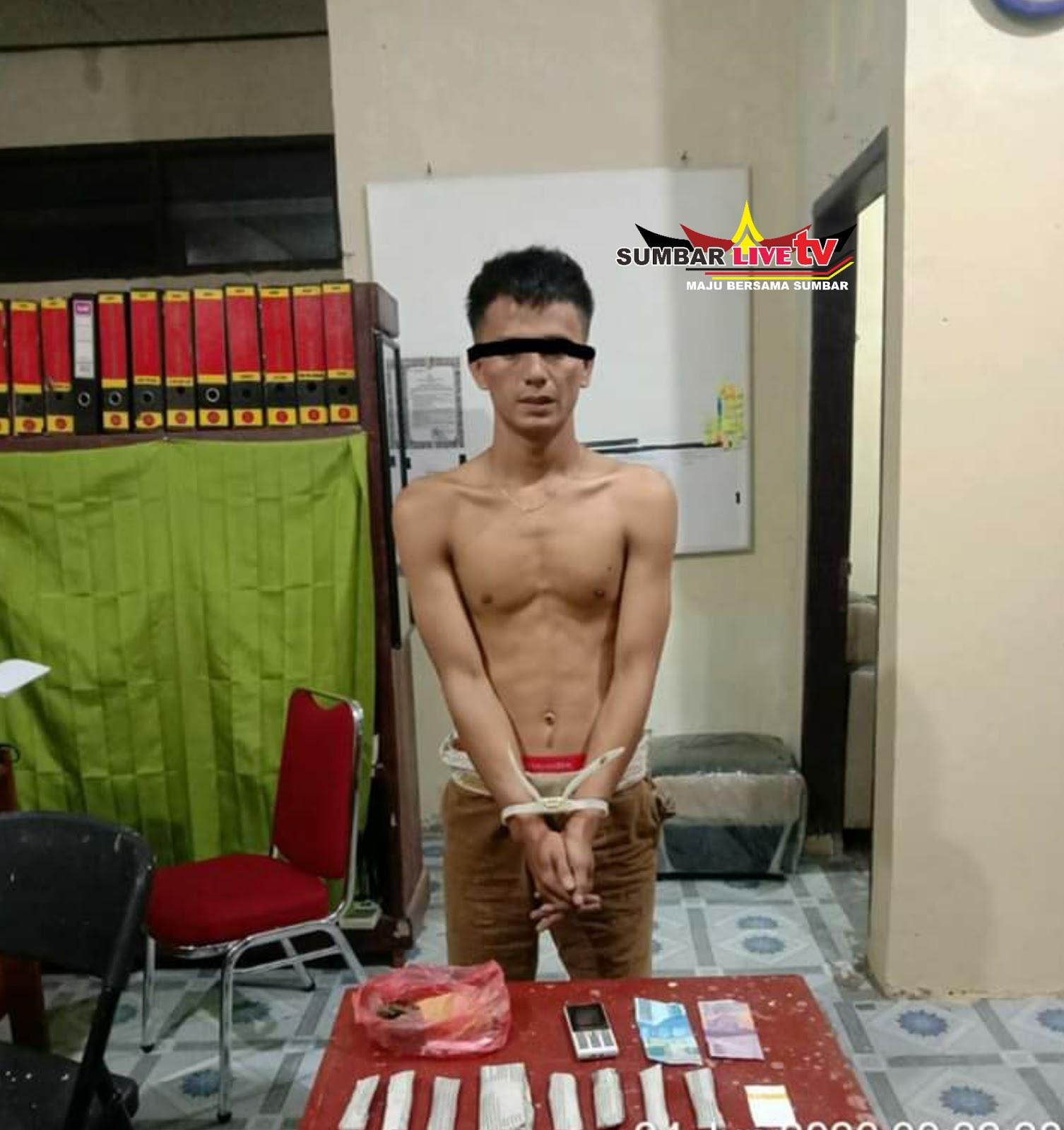 Narkoba di Padang Pariaman Polisi Tangkap Pengedar Ganja