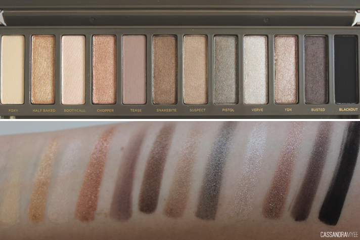 Urban Decay (Naked 2) orignal palette review ||Glam Makeup