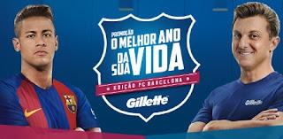 Cadastrar Promoção Gillette 2017 O Melhor Da Sua Vida Edição FC Barcelona