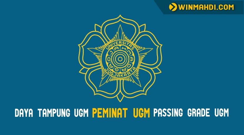 Daya Tampung UGM dan Passing Grade UGM