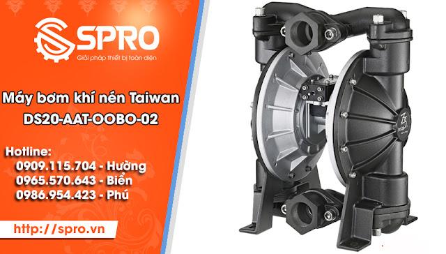 Máy bơm màng khí nén TAIWAN DS02-AAT-OOBO-02