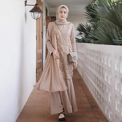 Gambar model hijab kebaya modern terbaru