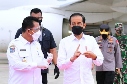 Presiden Jokowi Bertolak Menuju Provinsi Riau dan Kepulauan Riau Dalam Rangka Kunjungan Kerja