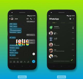 Retro Theme For YOWhatsApp & Fouad WhatsApp