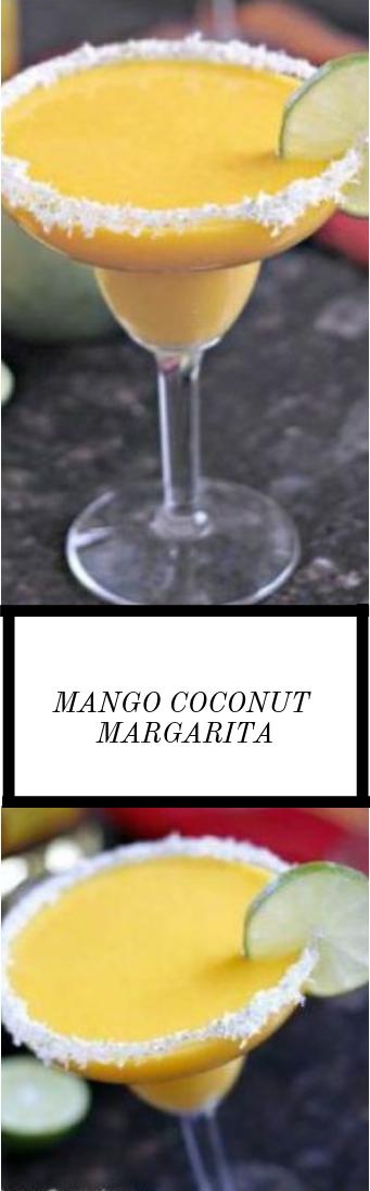 MANGO COCONUT MARGARITA #manggo