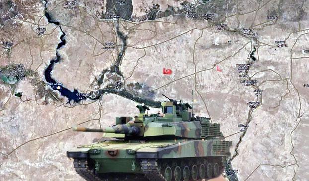 Военная операция к востоку от реки Евфрата
