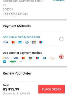 Cara Membeli Barang Di Aliexpress Bayar via ATM dan AlfaMart