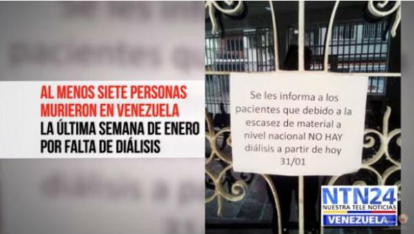 El drama de los pacientes renales en Venezuela: Depender del Estado es casi una condena a la muerte
