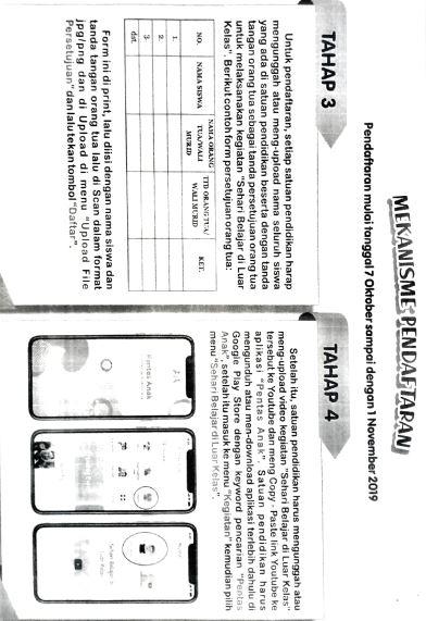 Himbauan Dinas Pendidikan Kabupaten Ngawi untuk Melaksanakan Kegiatan Sehari Belajar Diluar Kelas