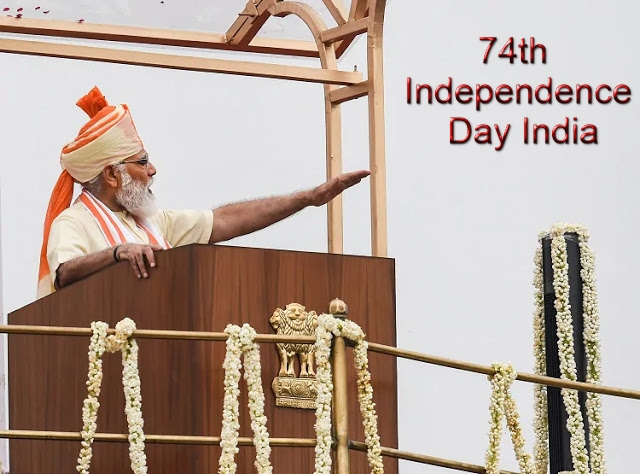 PM modi 74th independence day - Newstrends