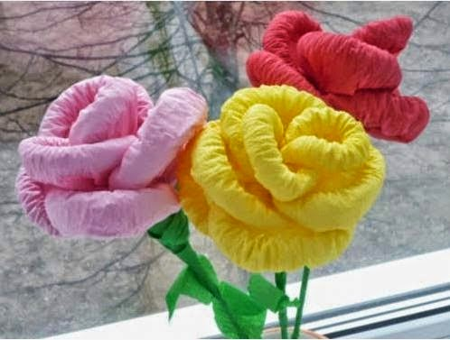 How to make diy napkin paper flowers simple step by step with floral craft and the craft could maybe help you to decorate your home or improve the economy to more let us done some steps to make flowers from paper mightylinksfo