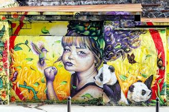 Sunday Street Art : Voudou Style - rue de l'Ourcq - Paris 19