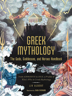 Review: Greek Mythology: The Gods, Goddesses, and Heroes Handbook by Liv Albert
