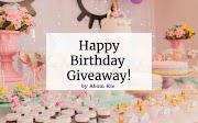 Happy Birthday Giveaway by Abam Kie